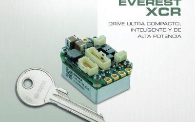 EVEREST XCR: DRIVE ULTRA COMPACTO, INTELIGENTE Y DE ALTA POTENCIA