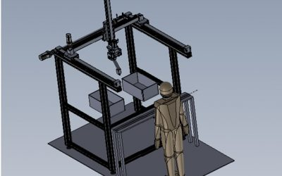 Finpicking- Robot Cartesiano de 6 ejes con Visión